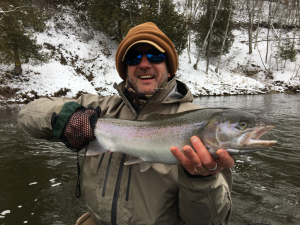Muskegon river steelhead and trout fishing on the Muskegon river